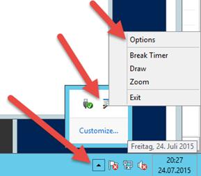 84c2a21ba607a Durch Bewegen der Maus kann durch den gezoomten Bildschirm gescrollt  werden. Mit einem Klick auf die linke Maustaste wird aktuelle gezoomte ...